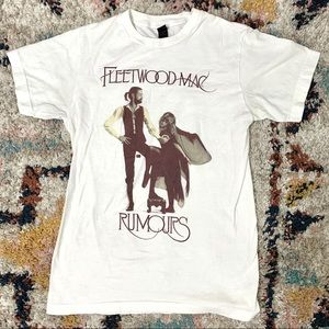Fleetwood Mac Rumors Band Tee Graphic T-shirt